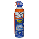 Blow off condensed air can for cleaning computers